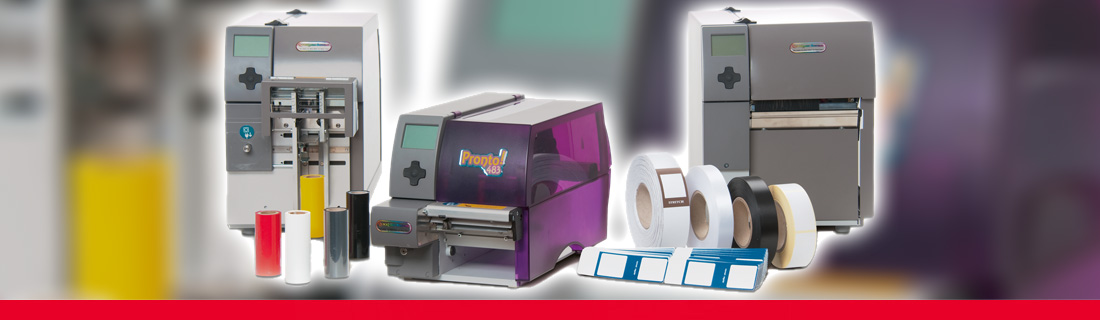 Thermal transfer printing and printing films, textile tapes, adhesive and carton labels